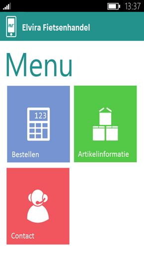 Koppel klanten aan AMF met uw eigen app