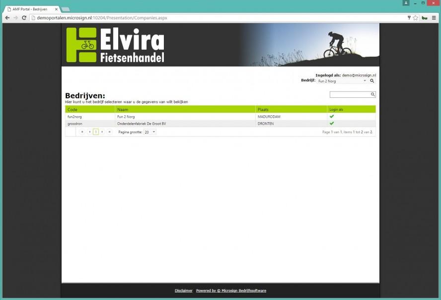Overal toegang tot uw ERP