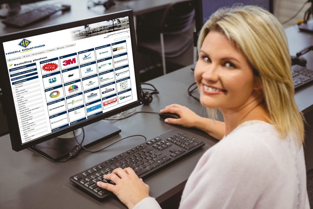 Klantbestelportaal webshop sales