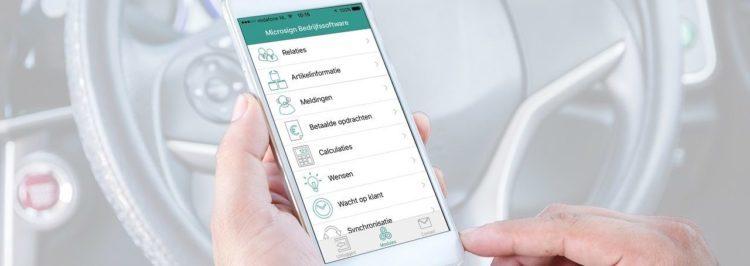Mobiele App Verkoop Service